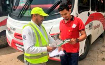 Sensibilización Secretaría Distrital de Tránsito y Seguridad vial de Barranquilla